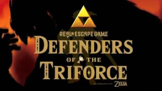 Defenders of the Triforce - Real Escape Game x The Legend of Zelda