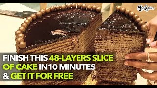 Elementaria In Mumbai Challenges To Complete A Slice Of The 48-Layer Cake    Curly Tales