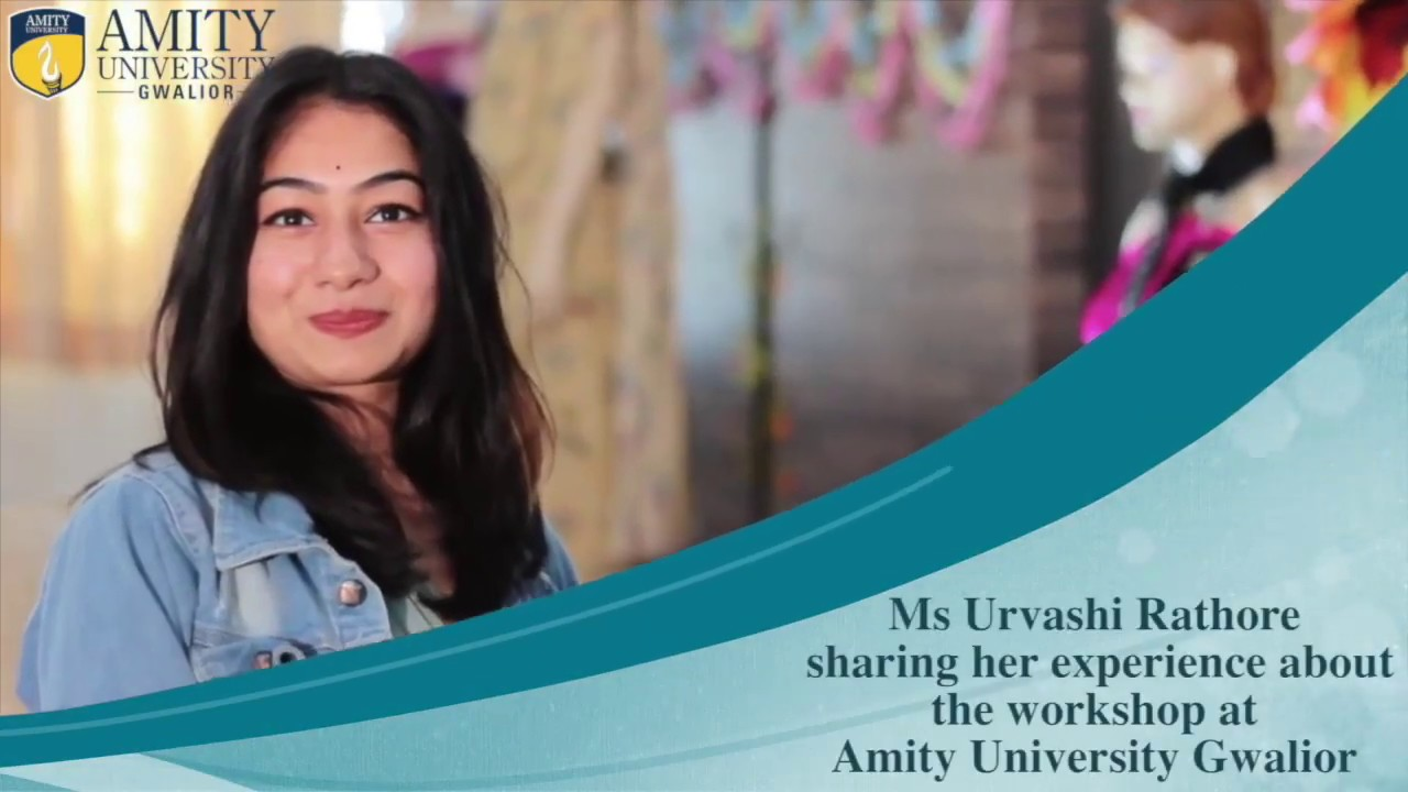 Industry Talk Urvashi Rathore Amity School Of Fashion Design Technology Youtube