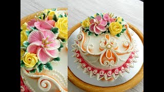 УКРАШЕНИЕ ТОРТОВ Торт БРИДЖИТ от SWEET BEAUTY СЛАДКАЯ КРАСОТА Cake Decoration