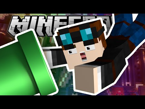 Minecraft | FALLING INTO A MARIO PIPE!!