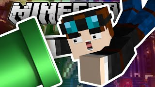 Minecraft | FALLING INTO A MARIO PIPE!!