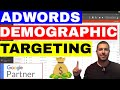 Adwords Demographic Targeting: How To Target By Income Level 💲💲💲