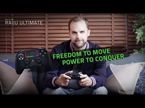 Freedom to Move Power to Conquer Razer Raiju Ultimate