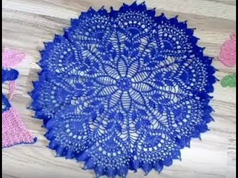 Вязание крючком салфетки схемы сказочно красивые салфетки крючком
