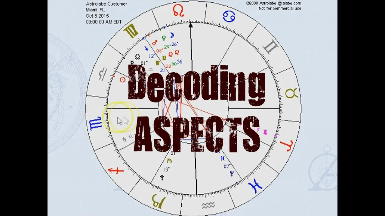 Decoding Aspects In Natal Charts Layer Two Youtube