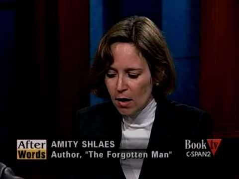 """Amity Shlaes' """"The Forgotten Man"""" 1"""