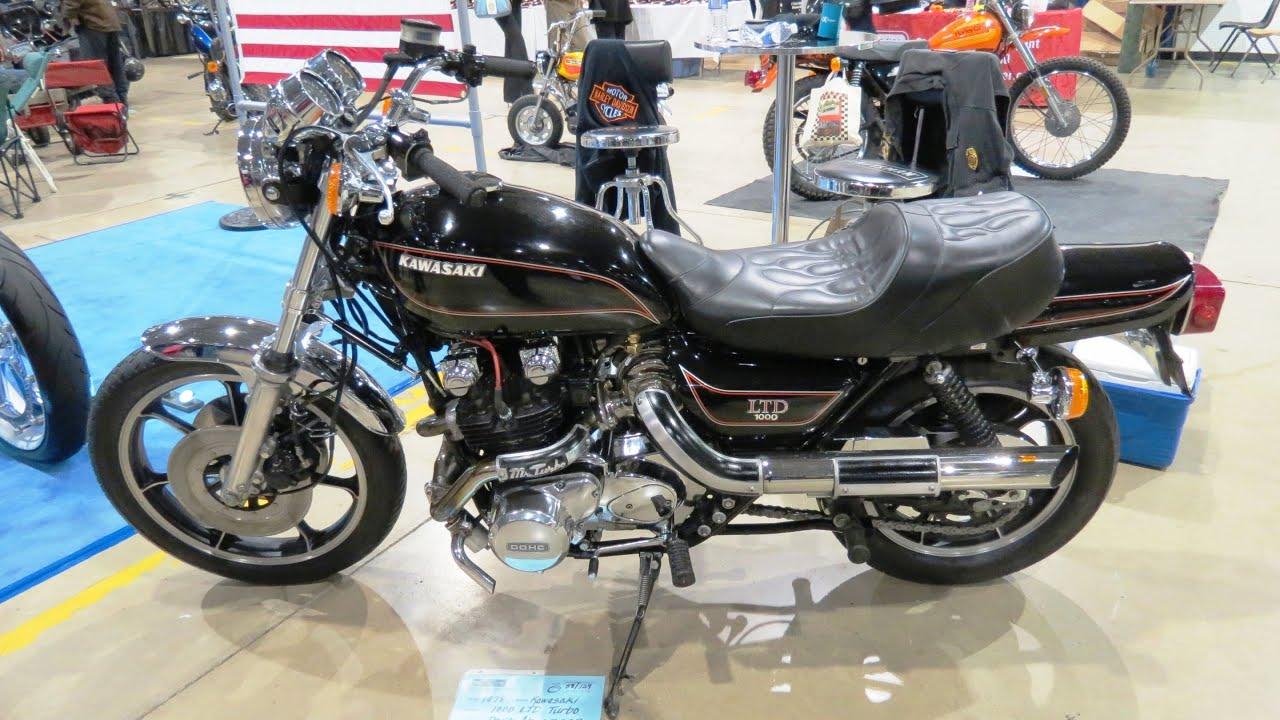 1978 Kawasaki 1000 LTD Turbo - YouTube