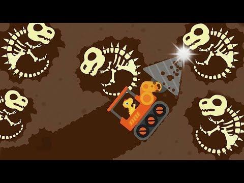 Dinosaur Digger 3 - Kids Truck Game - Play Fun Dinosaur Digger Game For Kids