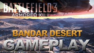 Battlefield 3 - Armored Kill - Conquest Gameplay - Bandar Desert (PC) 2560x1600