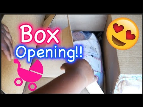 Reborn Baby BOX OPENING Paradise Galleries NEW Bundle Baby Doll - Baby Boy for Roleplay Pretend Play