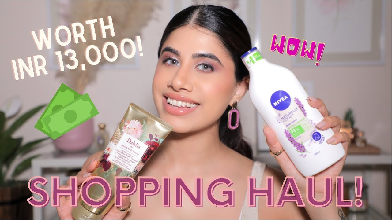 Download EXPENSIVE Shopping Haul! | Malvika Sitlani