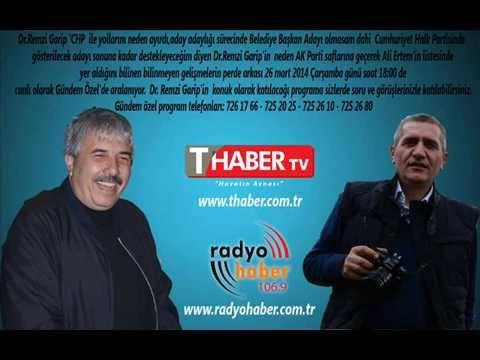 Remzi Garip, Radyo Haber - T Haber Gündem Özel Konuğu