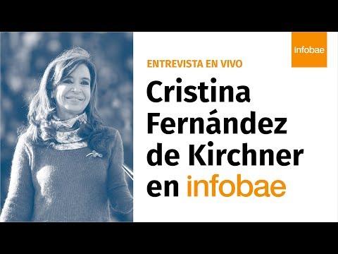 EN VIVO | Entrevista a Cristina Fernández de Kirchner en Infobae