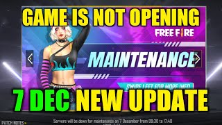 Free Fire December All New Update, Game is Not Opening - Garena Free Fire 2020