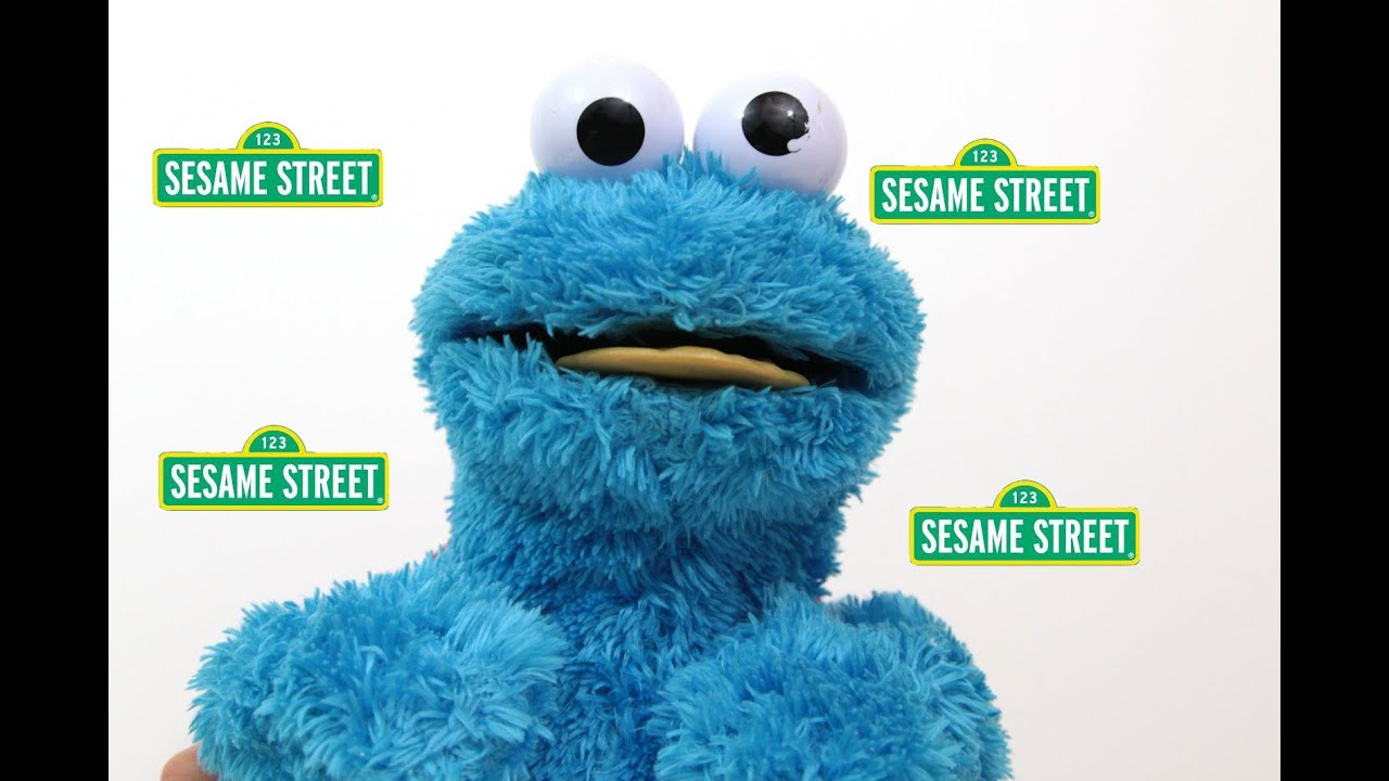 Cookie Monster Count N Crunch Toy Review - Youtube