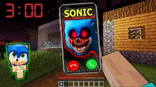 SOMEONE WATCHING SONIC PHONE BABY FAMILY SHADOW RYDER PAW PATROL SECRET Hello Neighbor Mod minecraft