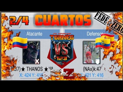LAST EMPIRE WAR Z | Torneo K47 🇪🇨🇪🇸 Vs THANOS 🇨🇴