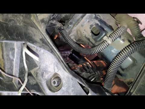 Установка радиатора VALEO на Форд Фокус 2 1.6 115 Рестайлинг