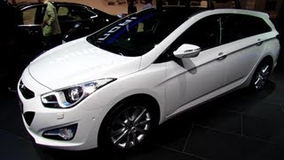 2014 Hyundai i40 Sport Wagon Diesel Exterior and Interior Walkaround 2013 Frankfurt Motor Show