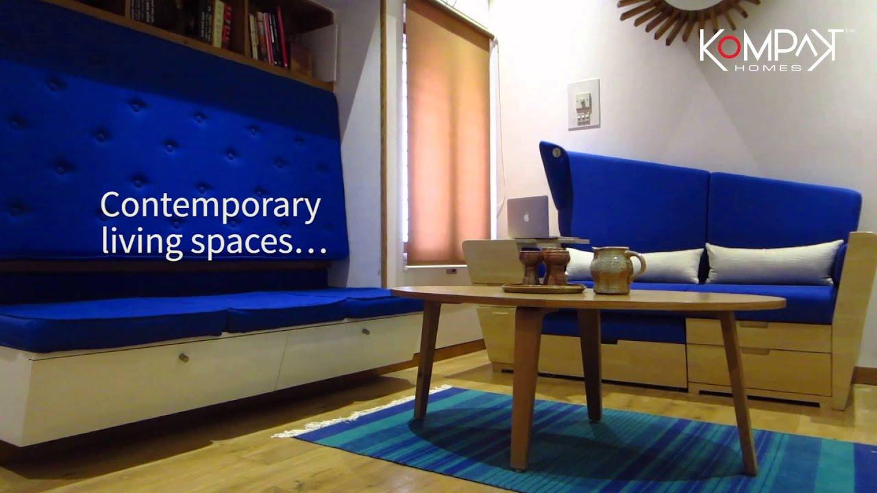 A Sample Kompakt Home By Esthete Youtube