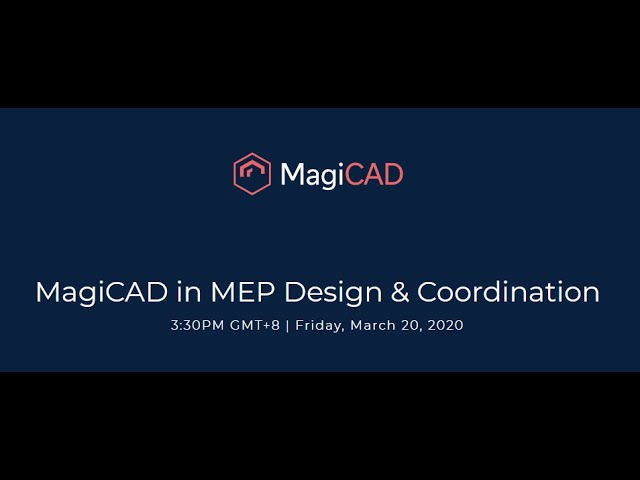 MagiCAD in MEP Design & Coordination