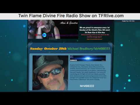 """MrMBB333 guest on Twin Flame Devine Fire Sunday Show on TFR """"Truth Frequency Radio"""""""