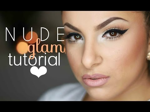 Nude Glam Makeup Tutorial | Makeup By Leyla