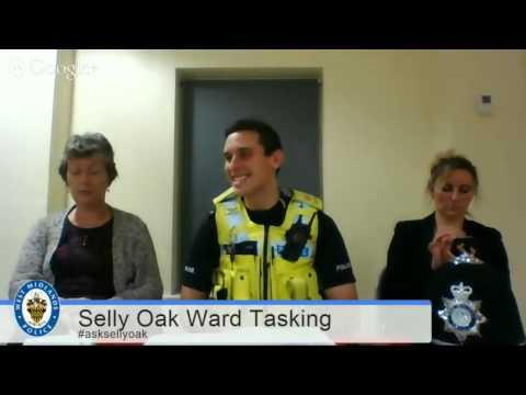 Selly Oak Live Police & Community Ward Tasking Meeting