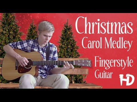 Christmas Carol Medley - Fingerstyle Guitar Arrangement [FREE TABS]