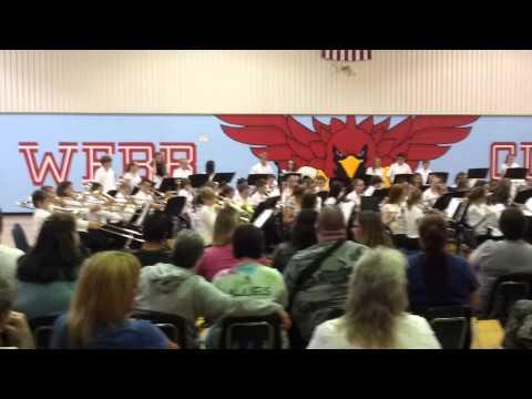 Webb city middle school band