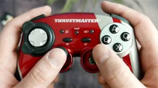 Thrustmaster Ferrari Wireless Gamepad 430 Scuderia Limited Edition unboxing