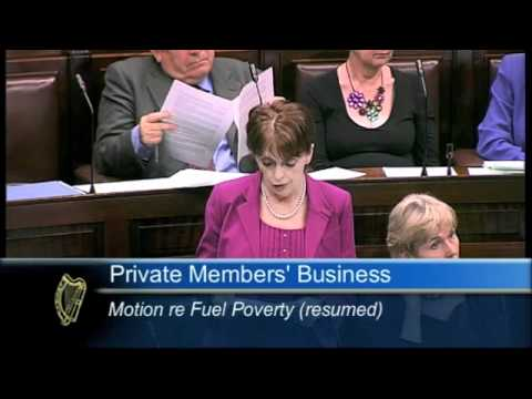 Deputy Roisin Shortall speaking on Fuel Poverty