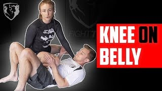 Knee-on-Belly: How to Dominate in this Position