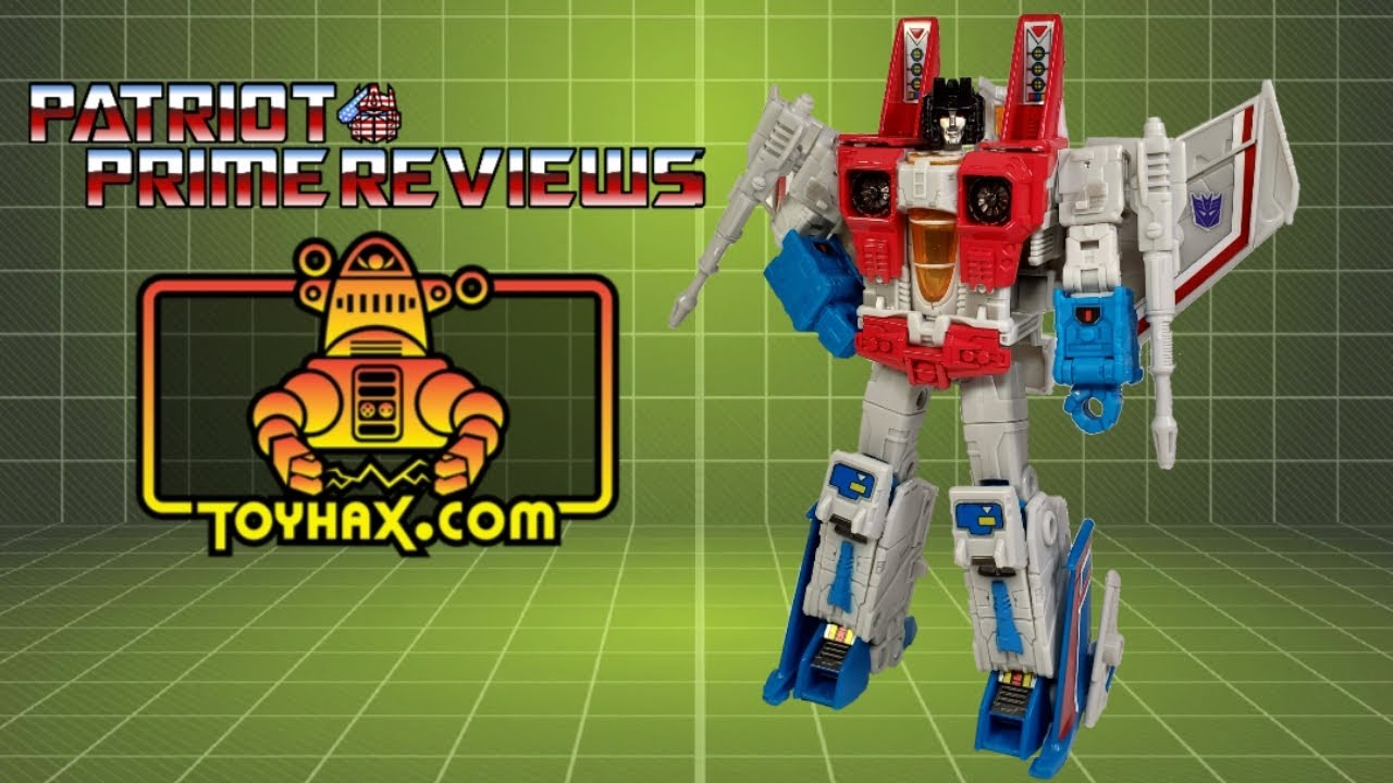 First Look! Toyhax Decal Set for Earthrise Starscream By Patriot Prime Reviews