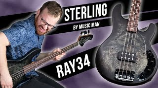 Sterling By Music Man Ray34PB! [Demo]