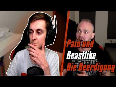 PAIN reagiert auf Pain und Beastlike Die Beerdigung