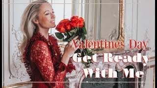 VALENTINES DAY GET READY WITH ME // ❤️ Fashion Mumblr