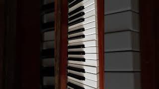 А помнишь вечер -- разбор на пианино + кавер.
