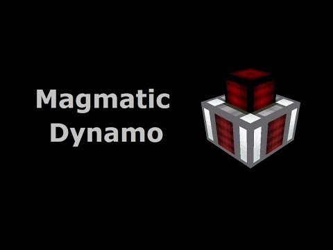 Magmatic Dynamo (Tekkit/Feed The Beast) - Minecraft In Minutes