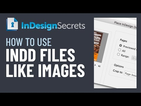 InDesign How-To: Place An InDesign File In Another InDesign File (Video Tutorial)