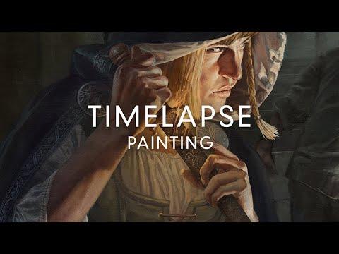 Initiation - Digital Painting Timelapse