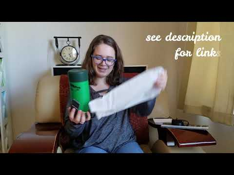 Hydro Flask And Straw Lid Unboxing