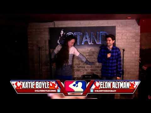 The RoastMasters 4.3.18 Main Event: Katie Boyle vs.  Elon Altman