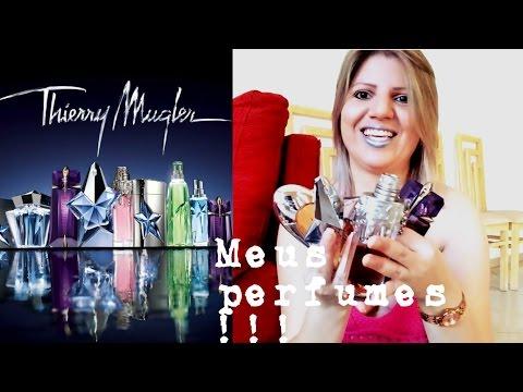 Meus perfumes do Thierry Mugler