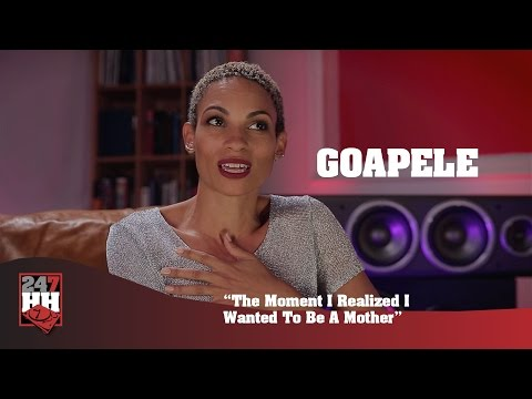 Goapele - The Moment I Realized I Wanted To Be A Mother (247HH Exclusive)