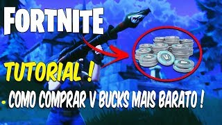 COMMENT ACHETER V-BUCKS DANS un WAY CHEAPER! TUTORIEL FORTNITE