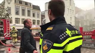 🔥 Grote #Brand in #Dordrecht – Voorstraat