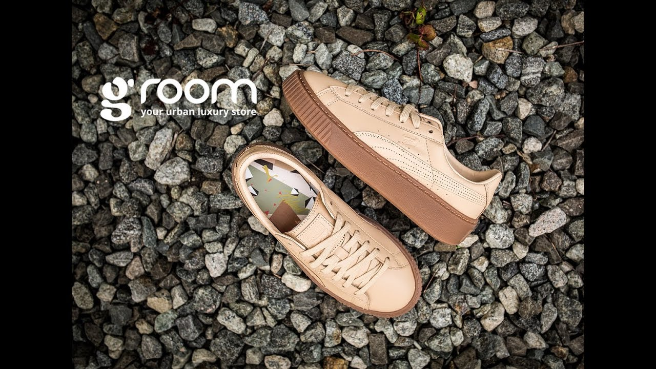 Puma x NATUREL Platform Veg Tan (364457.1) - YouTube 8ef235f49