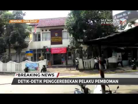 Detik-detik Penggerebekan Pelaku Bom di Bandung